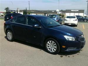 2011 Chevrolet Cruze LT Turbo w/1SA. GUARANTEE APPROVAL.