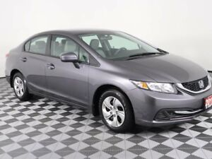 2015 Honda Civic Sedan LX w/Heated Seats-Bluetooth-Low KMS