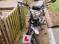 RK 125 Keeway extremely low mileage. 16 plate