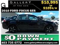 2010 Ford Focus SES $99 bi-weekly APPLY TODAY DRIVE TODAY