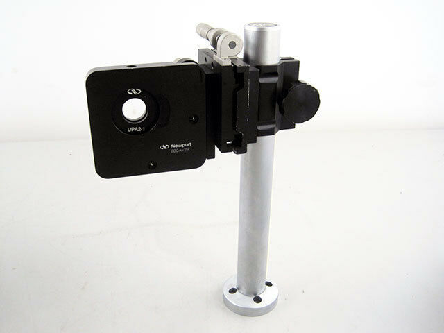 NEWPORT 370-RC CLAMP & 426-X STAGE 600A-2R MIRROR MOUNT UPA2-1 ADAPTER ON 75 ROD