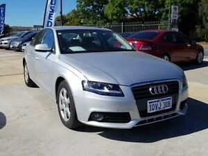 2009 Audi A4 B8 8K MY10 Multitronic Silver 8 Speed Constant Variable Sedan St James Victoria Park Area Preview