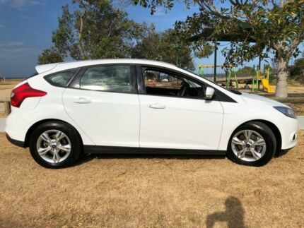2012 Ford Focus LW Trend PwrShift White 6 Speed Sports Automatic Dual Clutch Hatchback Tugun Gold Coast South Preview