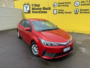 2018 Toyota Corolla ZRE172R Ascent S-CVT Burgundy 7 Speed Constant Variable Sedan Invermay Launceston Area Preview