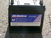AC DELCO TOP POST CAR/TRUCK BATTERY ONLY 18 MONTHS OLD