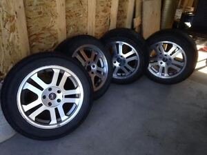 Ford/mustang rims and tires
