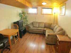Orleans one bedroom basement apartment