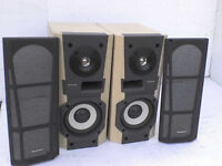 60W Technics HD-510 Stereo Speakers - Heathrow