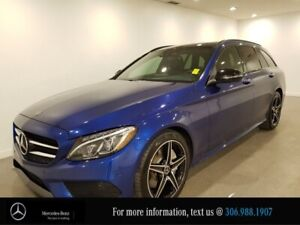 2018 Mercedes Benz C-Class C 300 Locally Owned Heated Black Leat