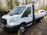 2015 Ford Transit DROP SIDE ALLOY PICK UP 4M NO VAT 22000 MILES GUARANTEED