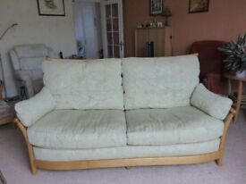 'ERCOL' 3 Seater 'Renaissance' Sofa