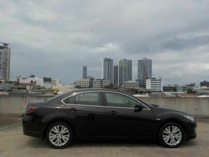2009 Mazda 6 GH1051 MY09 Classic Black 6 Speed Manual Sedan Southport Gold Coast City Preview
