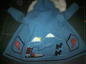 Wool Inuit Parka