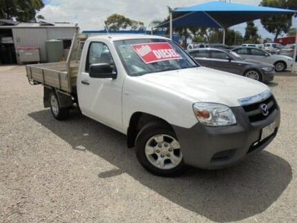2011 Mazda BT-50 White Manual Cab Chassis Hastings Mornington Peninsula Preview