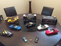 8 Diecast Models of Corvettes and more