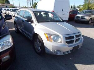 2007 Dodge Caliber SXT RUNS AND DRIVES AS-TRADED AS-IS