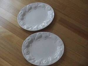 Two Oval Glass serving platter 50 cm Doncaster East Manningham Area Preview