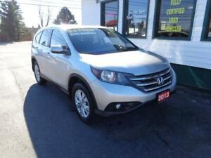 2013 Honda CR-V EX-L AWD for only $189 bi-weekly all in!