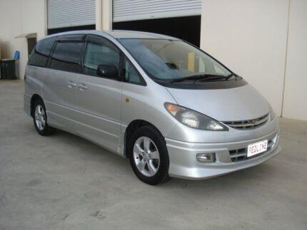 2002 Toyota Estima ACR30 AERAS Silver 4 Speed Automatic Wagon Brompton Charles Sturt Area Preview