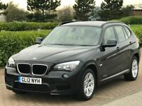 BMW X1 2.0 XDRIVE18D M SPORT 5d 141 BHP (black) 2012