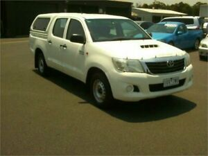 2014 Toyota Hilux KUN16R MY14 SR 5 Speed Manual Dual Cab Pick-up Traralgon Latrobe Valley Preview