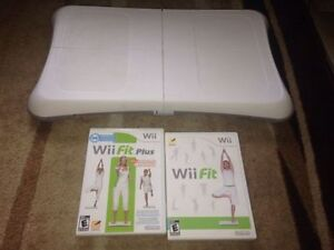 Wii fit board and 2 games wii fit wii fit plus