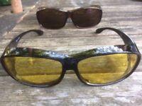Polarised Over Glasses Set Never Worn
