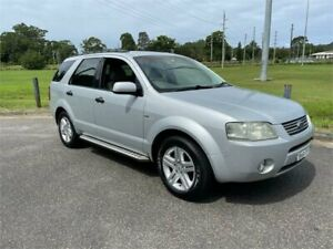 2006 Ford Territory SY Ghia (4x4) Silver 6 Speed Auto Seq Sportshift Wagon West Gosford Gosford Area Preview