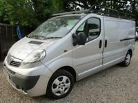 2009 Vauxhall Vivaro 2.0CDTI 115ps NO VAT Sportive 2900 LWB 120 K GENUINE