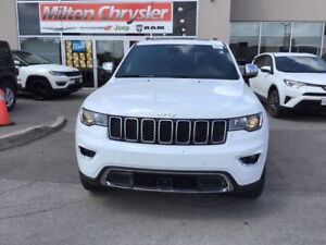 2018 Jeep Grand Cherokee LIMITED 4X4 / LEATHER/ROOF/NAV/BACK UP