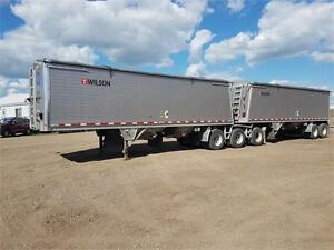 2015 Wilson super b grain trailer