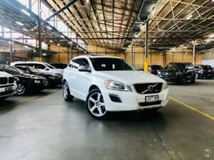 2010 Volvo XC60 DZ MY10 T6 Geartronic AWD R-Design White 6 Speed Sports Automatic Wagon Port Melbourne Port Phillip Preview