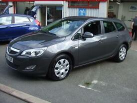 Vauxhall/Opel Astra Diesel Estate 1.7CDTi 16v 110ps ecoFLEX Exclusiv £30 Tax