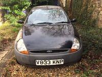Hardly used! Black Ford KA for sale