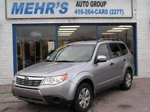 2009 Subaru Forester AWD No Accident All Original Great Cond.