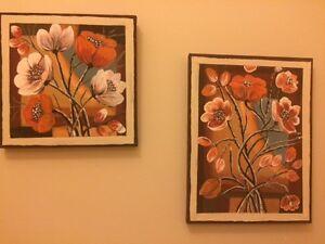 Acrylic Paintings - $20