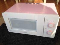 Microwave ideal for motorhome or caravan