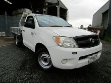 2008 Toyota Hilux GGN15R MY08 SR White 5 Speed Manual Cab Chassis Yeerongpilly Brisbane South West Preview