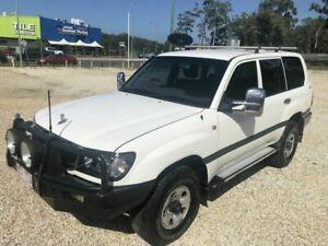 2000 Toyota Landcruiser HDJ100R GXL White 4 Speed Automatic Wagon Arundel Gold Coast City Preview
