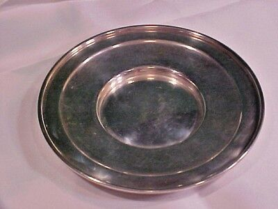 VINTAGE 1940s FRANK WHITING & COMPANY SMALL STERLING SILVER PLATE 56 GRAMS
