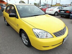2007 Mitsubishi Lancer CH MY07 ES Yellow 4 Speed Sports Automatic Sedan Enfield Port Adelaide Area Preview