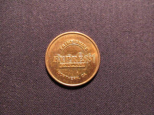 Prime Shine Express Car Wash Token - Northern CA Car Wash Coin - Token Of Our Ap