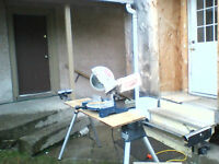 Mitre Saw and Portable Stand 100.00obo