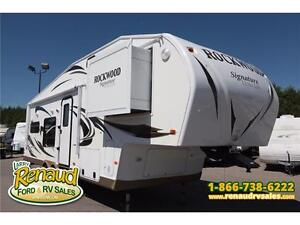 USED 2012 Forest River Rockwood 8280 WS 5th Wheel