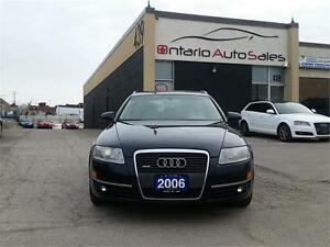 2006 AUDI A6 3.2L QUATTRO AVANT WITH NAVIGATION