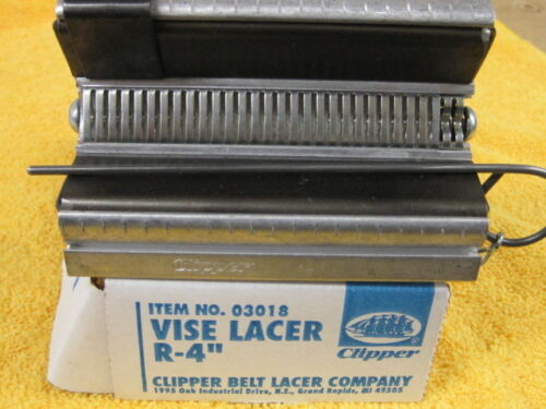 """Round Hay Baler Belt Clipper Vice Lacer R-4 Tool 4"""" Tool 03018"""