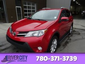 2014 Toyota RAV4 AWD LIMITED Navigation (GPS),  Leather,  Heated