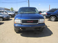 2002 GMC JIMMY 4X4..HUGE SALES ON NOW