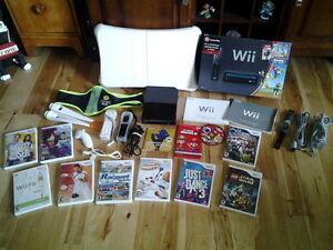 Nintendo Wii with Box & Games