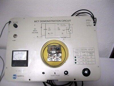 Harris Electrical Lab Equip Oscilloscope Mct Demo Circuit Semiconductor Teaching